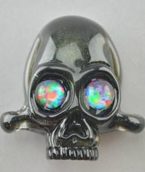 AKM - Opal Eyed Skull Pendant (2015)