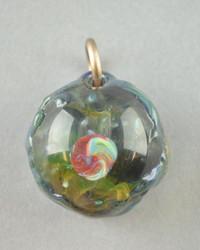 IAN GRABER - Outer-Space Theme Mini Pendant w/ Opal - #3