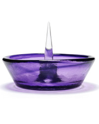 DEBOWLER - Colored Glass Debowler Ashtray - Purple