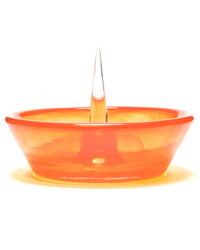 DEBOWLER - Colored Glass Debowler Ashtray - Orange