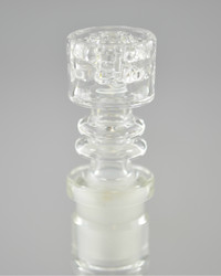 J-RED - Diamond Knot Quartz Nail (Pick Joint Size)