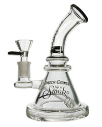 FAMOUS BRANDZ - Cheech & Chong Banger Hanger Rig w/ 14mm Slide - Strawberry