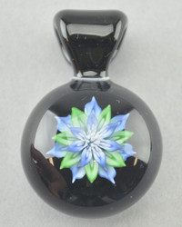 KIMMO - Glass Flower Pendant - #8