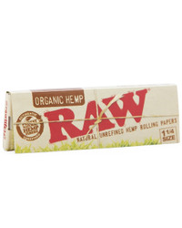"RAW - Organic Hemp Rolling Papers (1.25"")"