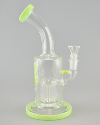 AFM - 8 Arm Bubbler w/ 14mm Female Joint & Slide - Slyme