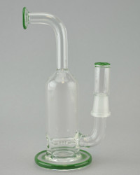 DOMER - Mini Stemline Dab Rig w/ 14mm Male Joint & Dome - Green