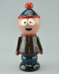 """TAMMY BALLER - """"Stan from South Park"""" Vapor Rig w/ 14mm Fixed 2-hole Diffy & Dome"""