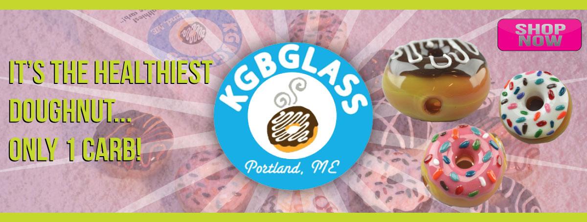 KGB Glass Doughnuts