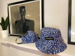 Hu$$Le Blue Bucket Hat