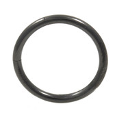 Black Steel Segment Ring Seamless Hoop 14G (4 Sizes)