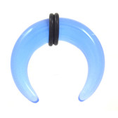 Glow in the Dark Blue UV Buffalo Tapers (8g-00g)