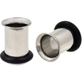 7mm (1G) Stainless Steel Single Flared Tunnels