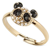 Pearly Panda Adjustable Toe Ring/Ring
