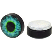 Eyeball Magnetic Fake Plug Earrings