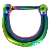 Rainbow IP Steel Basic Septum Clicker 100% 316L