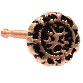 Mandala Filigree Rose Gold-Tone Nose Ring Stud
