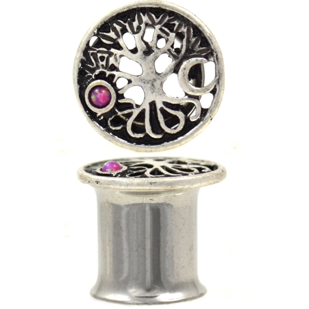 Solstice Tree Of Life Pink Accent Tunnels 2g 1