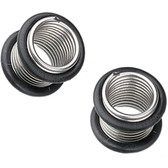 Steel Spring Coil No Flare Tunnels(6g-00g)