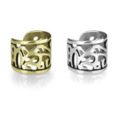 Wide Style Filigree Non Piercing Cartilage Earring