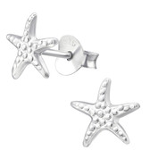 Starfish 925 Sterling Silver Stud Earrings