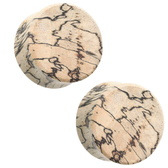 Tamarind Wood Plugs Double Flared (2G-38MM)