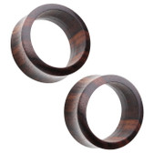 Organic Sono Wood Double Flared Tunnels (2G-38MM)