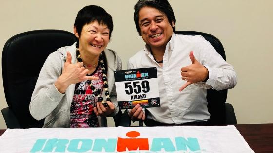 Takei Rikako's IRONMAN Finish! - Phiten