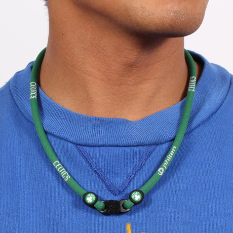 Boston Celtics NBA Titanium Necklace