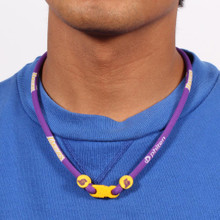Los Angeles Lakers®  NBA® Titanium Necklace