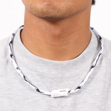X30 Tribal II Titanium Necklace