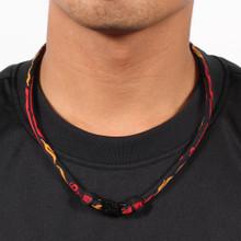Fireball Titanium Necklace