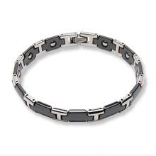 Ceramic Titanium Bracelet Black
