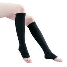 Ti Compression Socks Long Open Toe