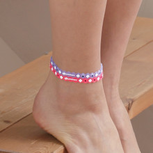 Titanium Anklet  (Translucent color)