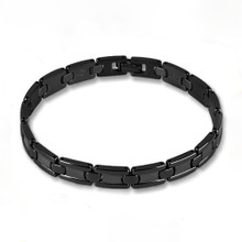 Titanium Bracelet Black Ion Plating (IP)