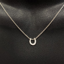 Chain Necklace Horseshoe Charm