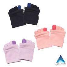Open Five Toe Stretch Half Socks