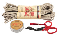 Mini standard hemp rope starter kit (2 x 30ft)