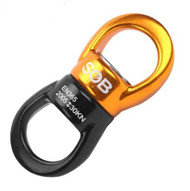 Suspension swivel, spinner, 30kn rated, rounded