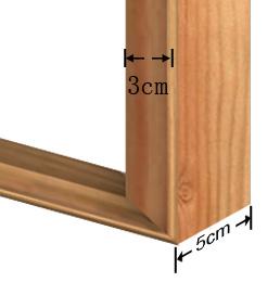 3x5cm wooden frame