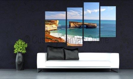 Beach art canvas jpg