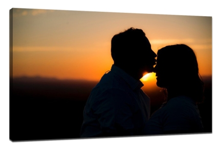 Take wonderful silhouette photos with mobile phone