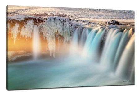 How to turn landscape photography into art canvas