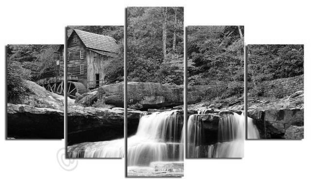 waterfall-landscape-photo-scenery-on-modern-contemporary-art-5-