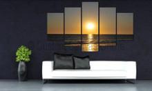 beach sunset art canvas prints western coast