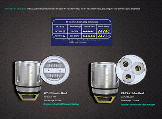 Wismec Kage WT Replacement Coil - 5PK **CLEARANCE**