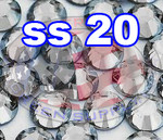 Rhinestones | SS20/5.0mm | Crystal(Clear) | 25 Gross