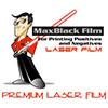 """8.5"""" x 11"""" - MaxBlack Premium Laser Film"""