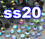 Rhinestones | SS20/5.0mm | CrystalAB(Clear) | 100 Gross
