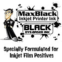 MaxBlack Bulk Dye Ink - 8oz. Bottle